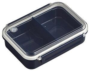 オーエスケー OSK まるごと冷凍弁当タイトボックス(仕切付)650ml ネイビー PCL-3S