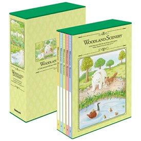 ナカバヤシ Nakabayashi 5冊組ポケットアルバムL判480枚収納ウッドランドシーナリー 5PL4801