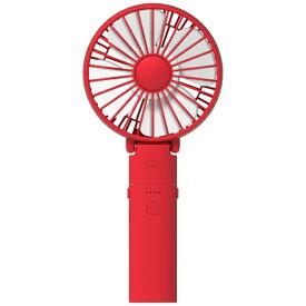 IRIVER LFAN-200008 携帯扇風機 ハンディファン デスクファン STORM MONSTER F PASSION RED