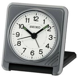セイコー SEIKO 目覚まし時計 グレーメタリック QQ638S [アナログ]