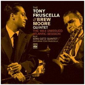 日本クラウン NIPPON CROWN Tony Fruscella & Brew Moore/ The 1954 Unissued Atlantic Session【CD】