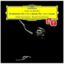 ユニバーサルミュージック ヘルベルト・フォン・カラヤン/ ベートーヴェン:交響曲第5番≪運命≫・第7番 生産限定盤【CD】