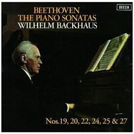 ユニバーサルミュージック ヴィルヘルム・バックハウス/ ベートーヴェン:ピアノ・ソナタ第19番・第20番・第22番・第24番・第25番・第27番 生産限定盤【CD】