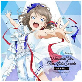 【2021年04月17日発売】 ランティス Lantis 渡辺曜(CV:斉藤朱夏) from Aqours/ LoveLive! Sunshine!! Watanabe You First Solo Concert Album【CD】