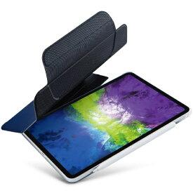 エレコム ELECOM 11インチ iPad Pro(第2世代)用 リムーバブルケース 着脱式フラップタイプ ネイビー TB-A20PMRFNV