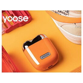 SHENZHENXIVODESIGN USB充電式シェーバー[国内・海外対応] yoose(ヨーセ) オレンジ YOOSE-ORANGE [回転刃]