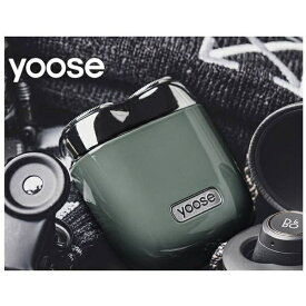 SHENZHENXIVODESIGN USB充電式シェーバー[国内・海外対応] yoose(ヨーセ) グレー YOOSE-GRAY [回転刃]