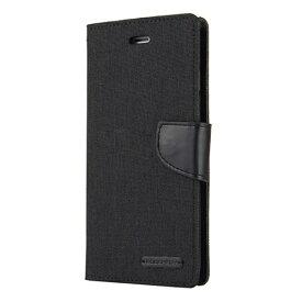 ビジョンネット Mercury CANVAS DIARYCase iPhone11ProMax VNCAN11PMBK ブラック