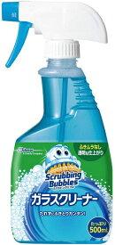 ジョンソン Johnson ScrubbingBubbles(スクラビングバブル)ガラスクリーナー 500ml〔住居用洗剤〕【rb_pcp】