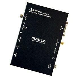 エーディテクノ ADTECHNO VGA→HDMIコンバータ USC-007