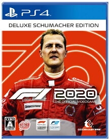 【2020年09月24日発売】 GSE Game Source Entertainment F1 2020 Deluxe Schumacher Edition【PS4】
