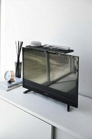 山崎実業 Yamazaki スマート テレビ上ラックワイド40 ブラック(Flat Screen Tv Rack Wide 40) ブラック 4881