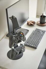 山崎実業 Yamazaki スマート ゲームコントローラー収納ラック ブラック(Game Controller Rack BK) ブラック 5089
