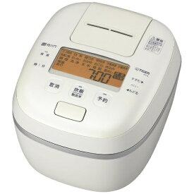 タイガー TIGER 炊飯器 炊きたて ご泡火炊き オフホワイト JPI-A100WO [圧力IH /5.5合]