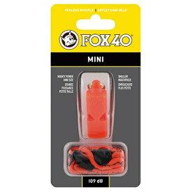 FOX40 ミニホイッスル(約53×22×18mm/オレンジ) 23263