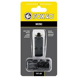 FOX40 ミニホイッスル(約53×22×18mm/ブラック) 23261
