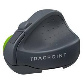 Swiftpoint マウス TRACPOINT グレー/ライムグリーン SM601 [無線(ワイヤレス) /3ボタン /Bluetooth]