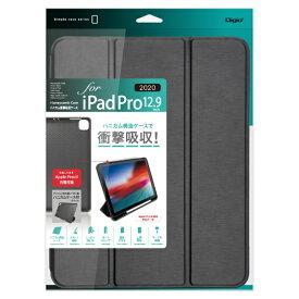 ナカバヤシ Nakabayashi 12.9インチ iPad Pro(第4/3世代)用 ハニカム衝撃吸収ケース ブラック TBC-IPP2014BK