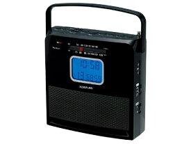 コイズミ KOIZUMI CDラジオ ブラック SAD-4707/K [ワイドFM対応]