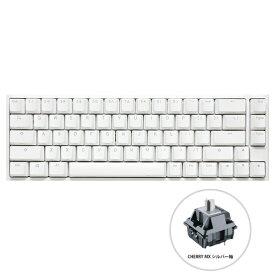 DUCKY ダッキー dk-one2-rgb-sf-pw-silver ゲーミングキーボード One 2 SF RGB Cherry Speed 銀軸(英語配列) ピュア ホワイト [USB /有線]