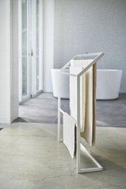 山崎実業 Yamazaki バスタオル&バスマットハンガー プレート ホワイト(Bath Towel & Bath Mat Hanger Plate) ホワイト 4760