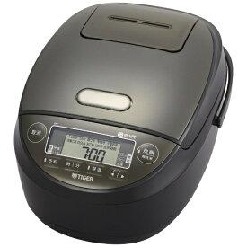タイガー TIGER 炊飯器 炊きたて ブラック JPK-H100K [圧力IH /5.5合]