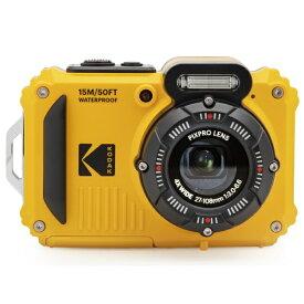 KODAK PIXPRO コンパクトデジタルカメラ【防水+防塵+耐衝撃】 スポーツカメラ PIXPRO イエロー WPZ2 [防水+防塵+耐衝撃]