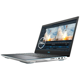 DELL デル NG385-ANHBCW ゲーミングノートパソコン New Dell G3 15 ホワイト [15.6型 /intel Core i7 /SSD:512GB /メモリ:16GB /2020年夏モデル]