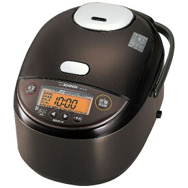 象印マホービン ZOJIRUSHI 炊飯器 極め炊き ダークブラウン NP-ZU18-TD [圧力IH /1升]
