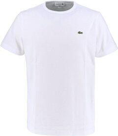 ラコステ LACOSTE メンズ ウエア Tシャツ ベーシッククルーネックTシャツ (半袖)(5(Lサイズ)/ホワイト)TH622EM