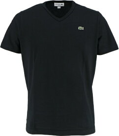 ラコステ LACOSTE メンズ ウエア Tシャツ ベーシックVネックTシャツ (半袖)(3(Sサイズ)/ブラック)TH632EM