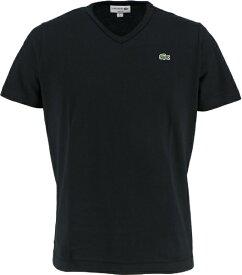 ラコステ LACOSTE メンズ ウエア Tシャツ ベーシックVネックTシャツ (半袖)(4(Mサイズ)/ブラック)TH632EM