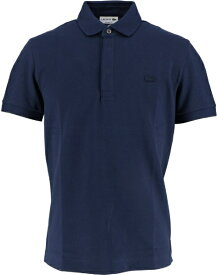 ラコステ LACOSTE メンズ ポロシャツ パリポロシャツ レギュラーフィット ストレッチ(5(Lサイズ)/ネイビー)PH5522M