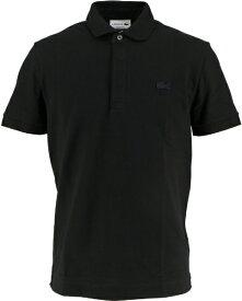 ラコステ LACOSTE メンズ ポロシャツ パリポロシャツ レギュラーフィット ストレッチ(3(Sサイズ)/ブラック)PH5522M