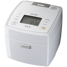 三菱 Mitsubishi Electric NJ-VVB18-W 炊飯器 炭炊釜 [1升 /IH]