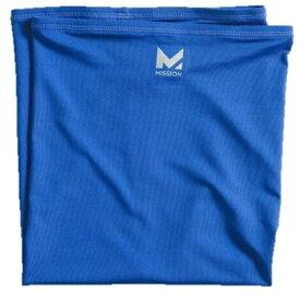 MISSION マルチクールネックゲーター(25cm×53cm/ミッションブルー) 109452
