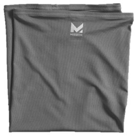 MISSION マルチクールネックゲーター(25cm×53cm/チャコール) 109457