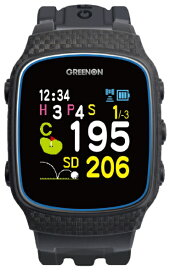 MASA GPSゴルフナビゲーション ザ・ゴルフウォッチ ノルムII(ブラック) G018B グリーンオン