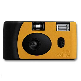 YASHICA ヤシカ 【フィルムカメラ】YASHICA MF-1 Camera Black&Orange with Yashica 400 ブラック&オレンジ