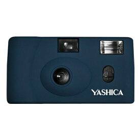 YASHICA ヤシカ 【フィルムカメラ】YASHICA MF-1 Camera Prussian Blue with Yashica 400 ネイビー