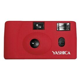 YASHICA ヤシカ 【フィルムカメラ】YASHICA MF-1 Camera Red with Yashica 400 レッド