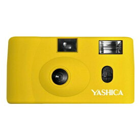 YASHICA ヤシカ 【フィルムカメラ】YASHICA MF-1 Camera Yellow with Yashica 400 イエロー