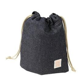 ケンコー・トキナー KenkoTokina 包む巾着ポーチM NEWプレミアムデニム TTK734292NPD