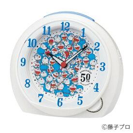 【2020年07月17日発売】 セイコー SEIKO 目覚まし時計 ドラえもん 50周年限定 白パール CQ803W [アナログ]