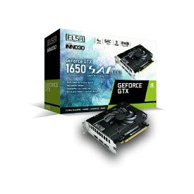 ELSA エルザ グラフィックボード GeForce GTX 1650 S.A.C DDR6 GD1650-4GERSD6 [4GB /GeForce GTXシリーズ]