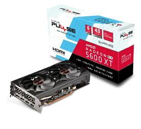 SAPPHIRE サファイヤ グラフィックボード PULSE RADEON RX 5600 XT BE 6G GDDR6 DUAL HDMI / DUAL DP OC W/BP (UEFI) SA-RX5600XTPULSE-6GBGDR6BE [6GB /Radeon RXシリーズ]