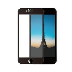 OWLTECH オウルテック iPhone SE(第2世代)/8/7/6s/6対応 液晶画面保護強化ガラス 絶対に貼り付けミスをしないキット付属 OWL-GUIC47F-BAG ブラック