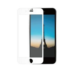 OWLTECH オウルテック iPhone SE(第2世代)/8/7/6s/6対応 液晶画面保護強化ガラス 絶対に貼り付けミスをしないキット付属 OWL-GUIC47F-WAG ホワイト