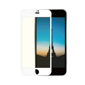 OWLTECH オウルテック iPhone SE(第2世代)/8/7/6s/6対応 液晶画面保護強化ガラス 絶対に貼り付けミスをしないキット付属 OWL-GUIC47F-WBC ホワイト