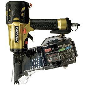 工機ホールディングス Koki HiKOKI 高圧ロール釘打機 ゴールド NV75HMC